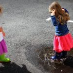 Puddle Splashing…  A New Adventure