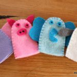 Hand Made Finger Puppets