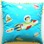 10 Days Of Giveaways – 2 Space Cowboy Cushions From Heart And Home