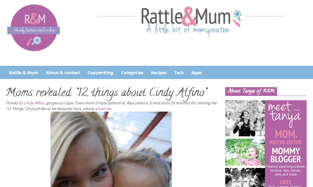 Rattle and Mum