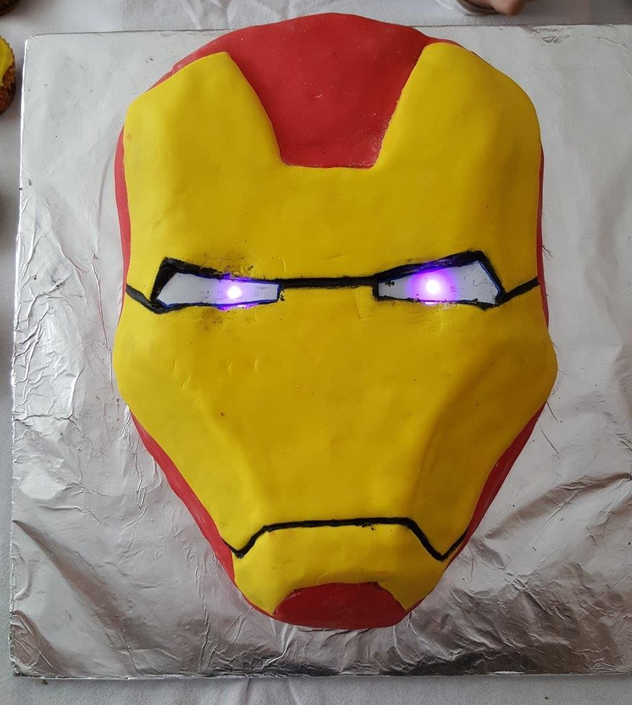 ironman birthday cake