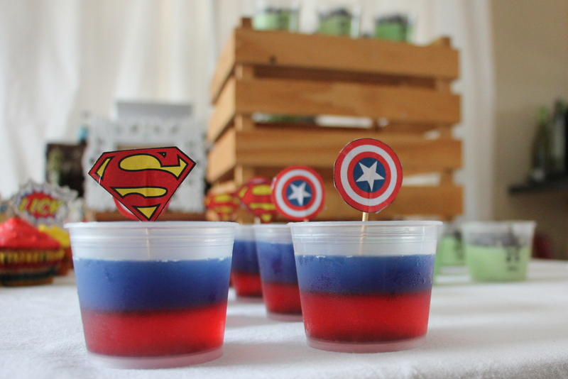 superman jelly, captain america jelly