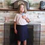 Kyla's First Day Of GRADE 1