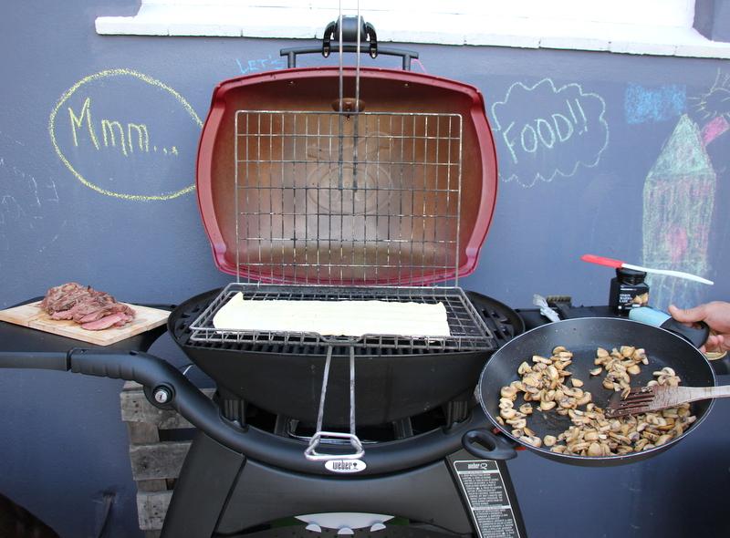 steak and mushroom braai pie