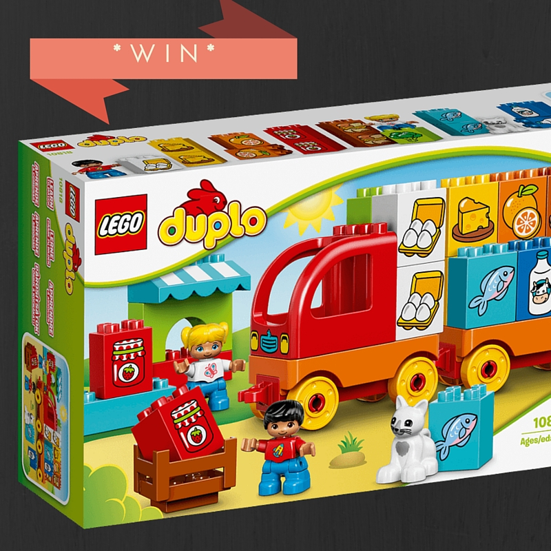 My First Truck Duplo Giveaway 3 Kids 2 Dogs And 1 Old House