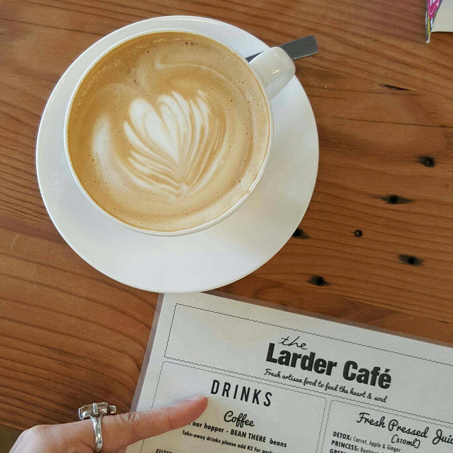 Almond Milk Coffee - The Larder