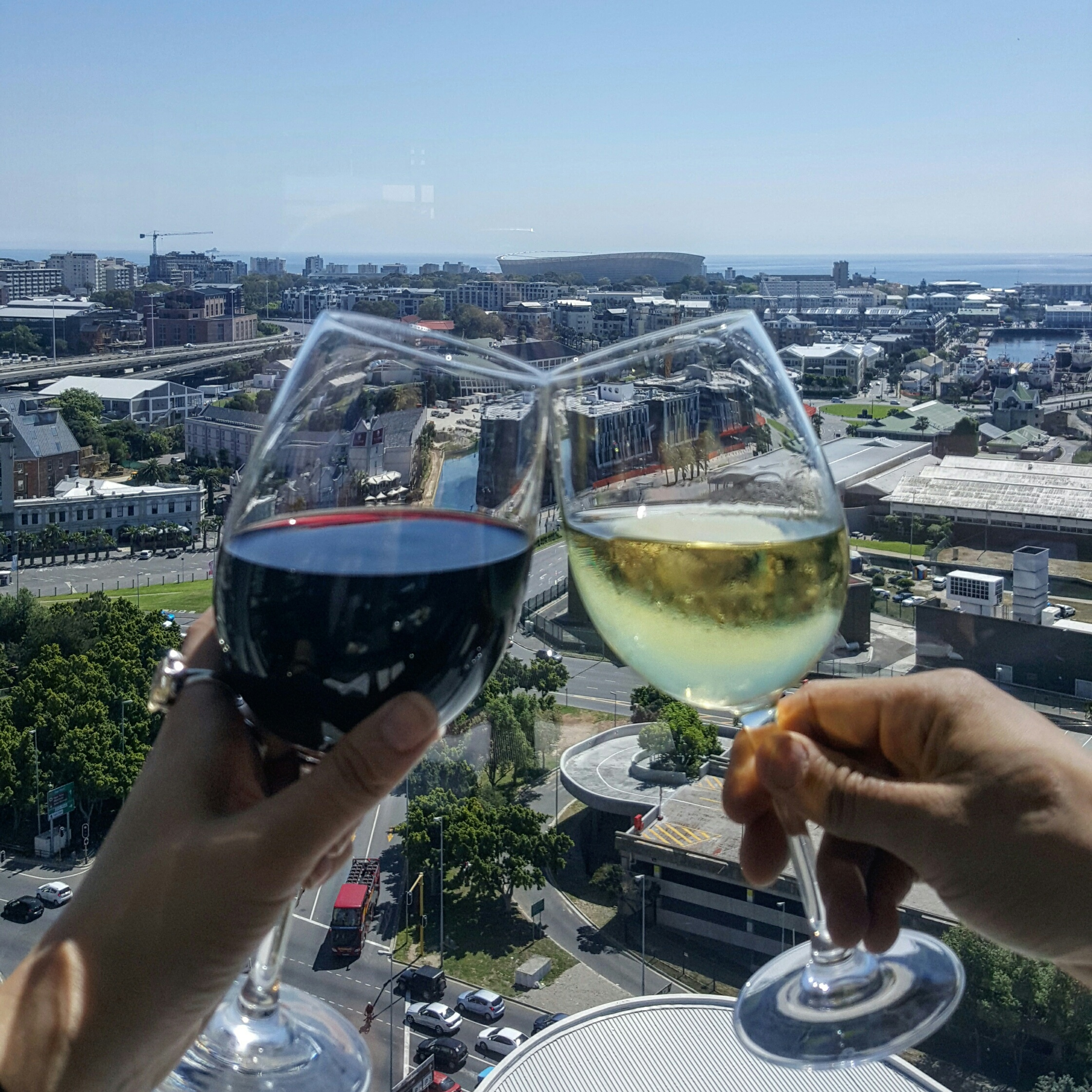 wine in cape town - the westin