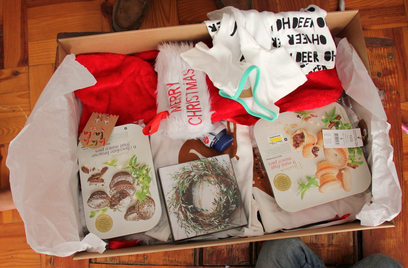 Christmas traditions box