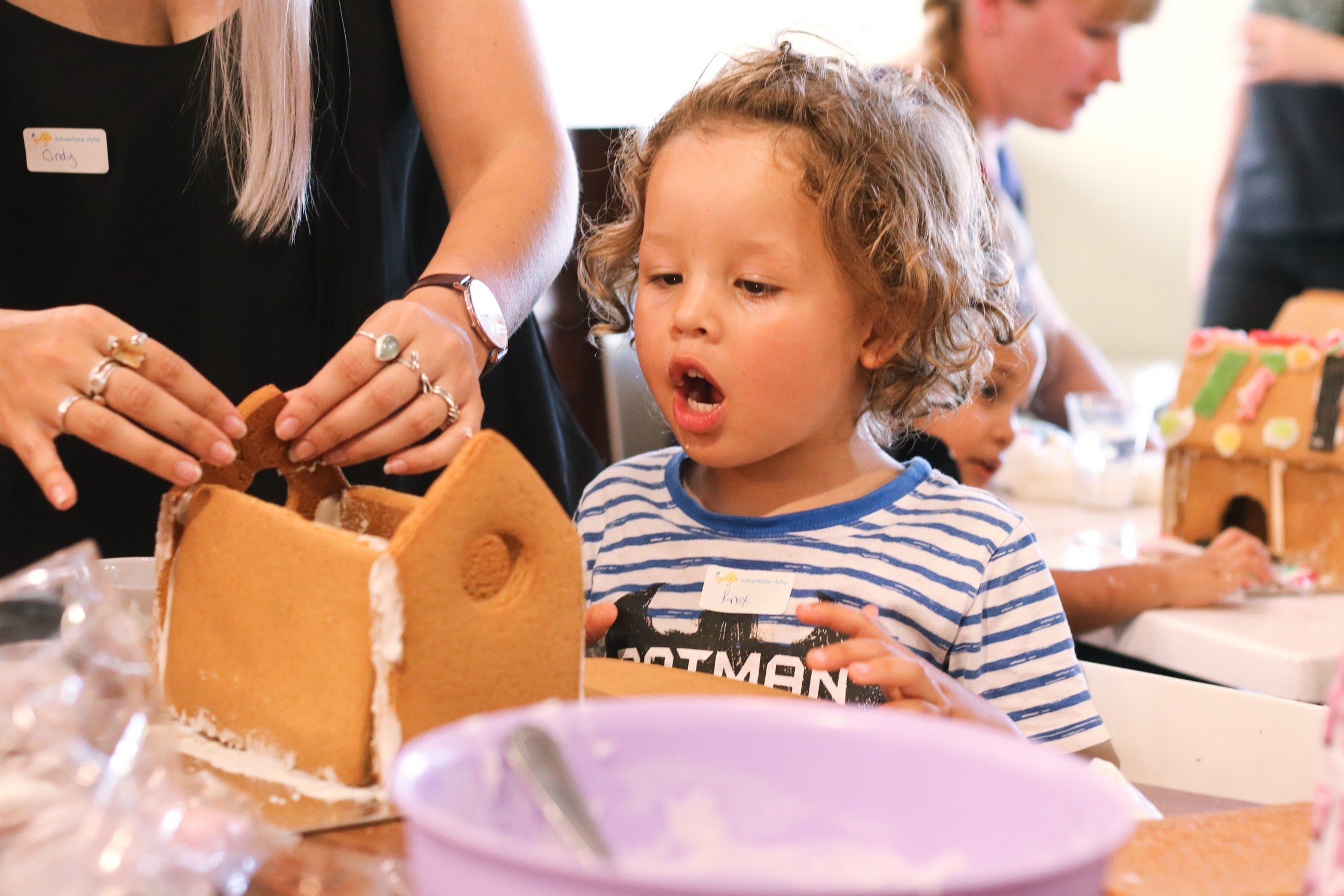 Gingerbread house Adventure Clubs